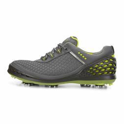 New Ecco Mens Golf Cage Evo Spike Golf shoes Dark Shadow Sul
