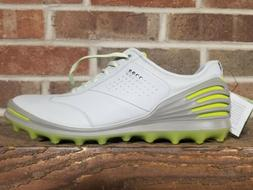 "New Ecco Mens Golf Cage Pro Spikeless Golf shoes "" Concrete"
