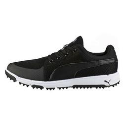 NEW Mens Puma Grip Sport Tech Golf Shoes Puma Black / White