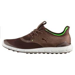 NEW MEN'S PUMA IGNITE SPIKELESS SPORT GOLF SHOES CHESTNUT
