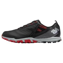 NEW MEN'S NEW BALANCE MINIMUS SL GOLF SHOES BLACK NBG1006