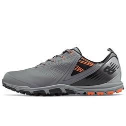 NEW MEN'S NEW BALANCE MINIMUS SL GOLF SHOES GREY NBG1006G