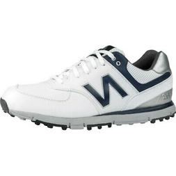 NEW Mens New Balance NBG574-SL Waterproof Golf Shoes White /