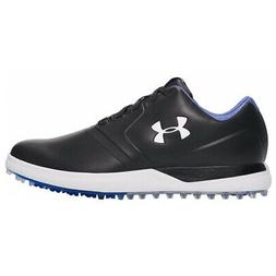 NEW Mens Under Armour Performance SL Golf Shoes Black / Whit