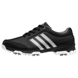 NEW MEN'S ADIDAS PURE 360 LITE GOLF SHOES BLACK/WHITE Q468