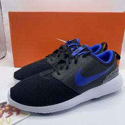 NEW Mens Nike Roshe G Golf Shoes Blue Cement Black AA1837-00