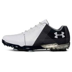 NEW Mens Under Armour Spieth 2 Golf Shoes White / Academy -