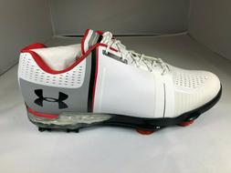NEW MENS UNDER ARMOUR SPIETH ONE GOLF SHOES 1288574 108-MULT