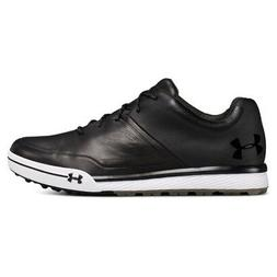 NEW Mens Under Armour Tempo Hybrid 2 Golf Shoes Black / Stee