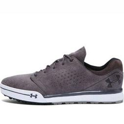 NEW Mens Under Armour Tempo Hybrid Golf Shoes Gravel / Charc
