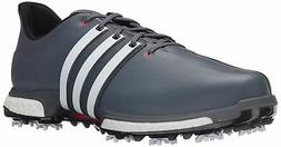 NEW MEN'S ADIDAS TOUR 360 BOOST GOLF SHOES ONIX/WHITE F33