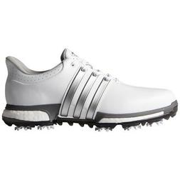 NEW MEN'S ADIDAS TOUR 360 BOOST GOLF SHOES WHITE F33249/F