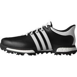 NEW MEN'S ADIDAS TOUR 360 BOOST GOLF SHOES BLACK Q44821-Q