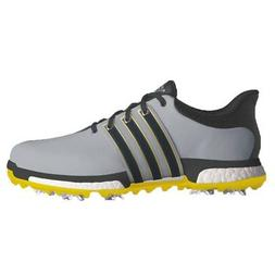 NEW MEN'S ADIDAS TOUR 360 BOOST GOLF SHOES ONIX Q44845-Q4