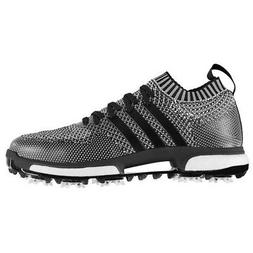 New Mens Adidas Tour360 Knit Golf Shoes Core Black / White -