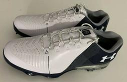 New Mens Under Armour UA Spieth 2 Golf Shoes 3020801-102 Whi