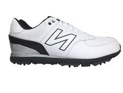 New New Balance- NBG574 Classic Golf Shoes White/Black Size