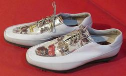NEW NWOB WOMENS FOOTJOY ESTATE COLLECTION 99454 GOLF SHOES S