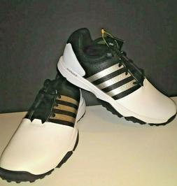 New NWT Adidas 360 Traxion Men's Golf Shoes Q44994 - White/B