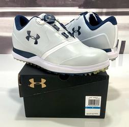 New Under Armour Performance SL Boa Golf Shoes 1297175 101-S