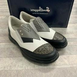 New Sandbaggers Pip Black  Women's Ladies Golf Shoes Nib