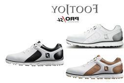 NEW FootJoy PRO SL Men's Spikeless Golf Shoes NIB! - Choose