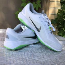 NEW Nike React Vapor 2 Golf Cleats Shoes Men's 11.5 White Gr
