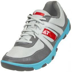 NEW True Linkswear Sensei Mens Golf Shoes - Gray & Blue - 8