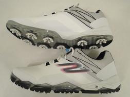 NEW Skechers Mens 8 Go Golf Focus Waterproof Golf Shoes Whit