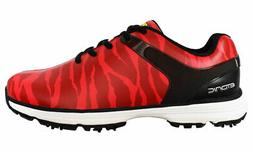 new stabi loud golf shoes red white