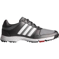 New Adidas Tech Response Mens Golf Shoes Iron/White/Black -