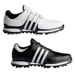 New Adidas Tour 360 Boost 2.0 Golf Shoes 3 Stripe Logo - Pic