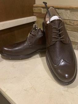NEW ECCO TOUR WORLD CLASS Brown Men's Golf Shoes 43, 9.5 WER
