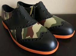 NEW Biion Unisex Camouflage Camo Oxford & Golf Slip On Shoes