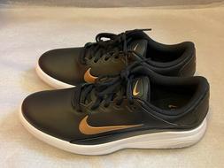 NEW Nike Vapor Fitsole Golf Shoes Women's Size 8.5 Black Whi