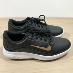 New Nike Vapor Golf Shoes Black/White/Bronze Fitsole AQ2324-
