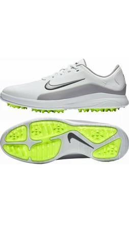 NEW Nike Vapor Men's Golf Shoes White Grey AQ2302 101 Spikes