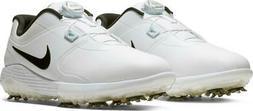New Nike Vapor Pro BOA Mens Golf Shoes Spikes SZ 10 White Bl