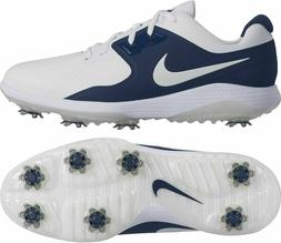 NEW Nike VAPOR PRO Wide Men's Golf Shoes White Navy Blue AQ2