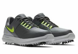New with Box Mens Nike Air Zoom Accurate Golf Shoes Dark Gre