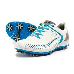 New Women`s ECCO BIOM G2 Golf  Shoes Hydromax Yak leather 10
