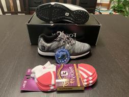 New Women's Footjoy Leisure Softspike Golf Shoes #92907 Blue