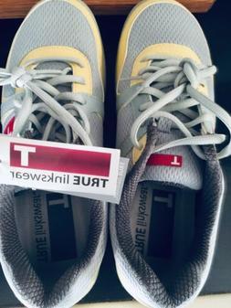 New Womens True Linkswear True Jade Golf Shoes Grey / Sunshi
