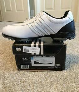 NIB!!  Men'sADIDAS 360 TRAXION BOA Golf Shoes   F33446   1