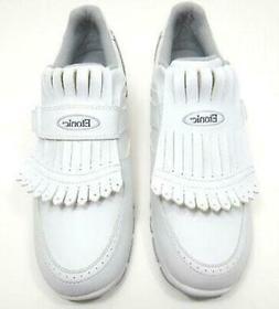 NIB Women's Etonic Lites Velcro Kiltie Slip On Golf Shoes Sp