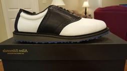 Allen Edmonds Nicklaus Muirfield 2.0 Mens Golf Shoes NEW Wh/