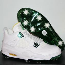 Nike Air Jordan 4 Masters Tournament Golf Shoes Mens 10 CZ24