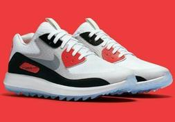 NIKE AIR ZOOM 90 IT GOLF SHOES WOMENS SIZE 7.5 INFRARED 8446