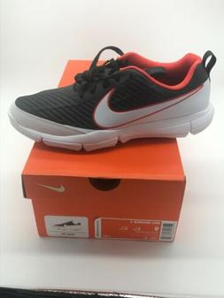 NWB Nike Explorer 2 Mens Golf Shoes Max Orange White Black 8