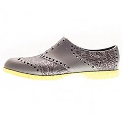 Biion Men's The Patterns Oxford and Golf Slip On, Snake, 11